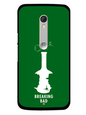 Snooky Designer Print Hard Back Case Cover For Motorola Moto X Play - Green