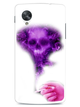 Snooky Designer Print Hard Back Case Cover For LG Google Nexus 5 - Purple