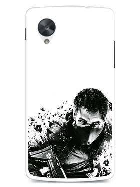 Snooky Designer Print Hard Back Case Cover For LG Google Nexus 5 - Black