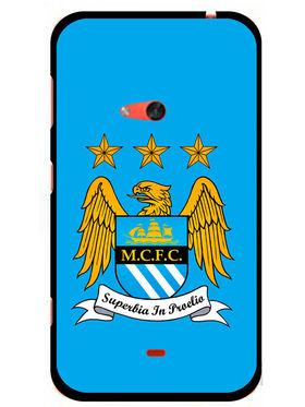 Snooky Designer Print Hard Back Case Cover For Nokia Lumia 625 - Blue