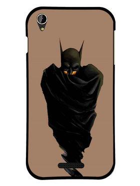 Snooky Designer Print Hard Back Case Cover For Lava Iris X1 mini - Black