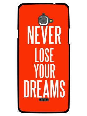 Snooky Designer Print Hard Back Case Cover For InFocus M530 - Red