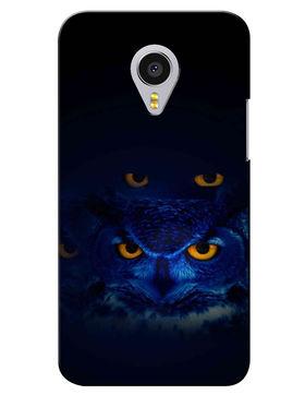 Snooky Digital Print Hard Back Case Cover For Meizu MX4 Pro - Black