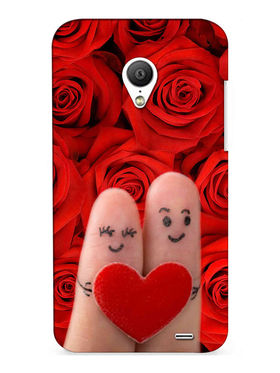 Snooky Digital Print Hard Back Case Cover For Meizu MX3 - Red