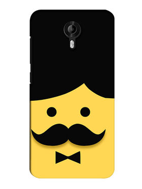 Snooky Digital Print Hard Back Case Cover For Micromax Canvas Nitro 3 E455 - Yellow