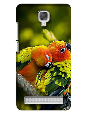 Snooky Digital Print Hard Back Case Cover For Micromax Bolt Q331 - Green