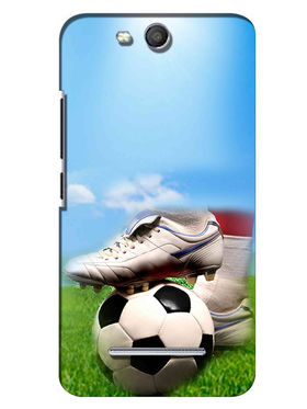 Snooky Digital Print Hard Back Case Cover For Micromax Canvas Juice 3 Q392 - Blue