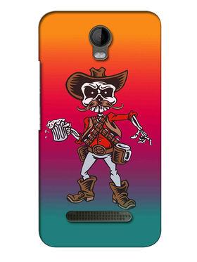 Snooky Digital Print Hard Back Case Cover For Micromax Bolt Q335 - Multicolour