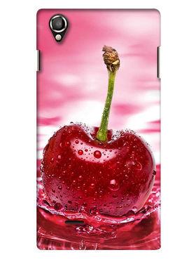 Snooky Digital Print Hard Back Case Cover For Lava Iris 800 - Rose Pink