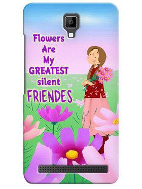 Snooky Digital Print Hard Back Case Cover For Micromax Bolt Q331 - Multicolor