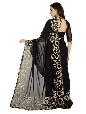 Designersareez Zari Threaded Georgette Saree -1994