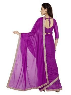 Designersareez Zari Threaded Lycra Saree -1999