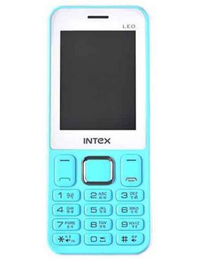 Intex Leo Dual Sim Phone - Sky Blue & White