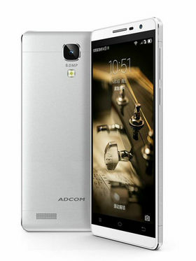 Adcom A-NOTE Android Kitkat, Quad Core Processor with 1GB RAM - Silver