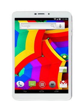 Ambrane AQ-880 8 Inch Quad Core Kitkat 3G Calling Tablet (1GB RAM : 8GB ROM : 5MP Camera : 4000mAh Battery) - Silver