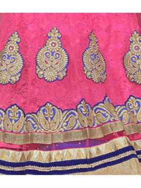 Khushali Fashion Embroidered Net Lehenga Choli(Pink)_ASFN2A116PINK