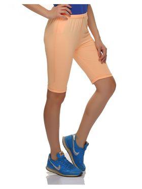 Clovia Polyamide  Spandex Solid Shorts -AT0018P16