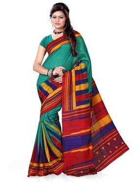 Smruti Pack of 3 Bhagalpuri Sarees - By Adah Fashions