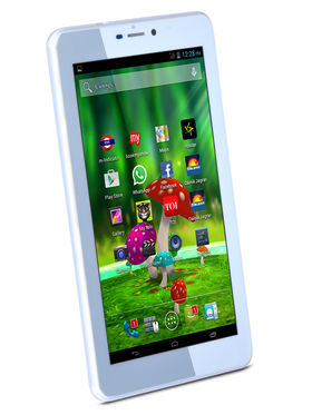 Ambrane 3G Dual SIM Calling Tablet Combo with Backpack & Power Bank - New