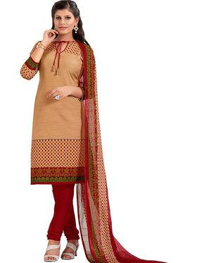 Khushali Fashion Cotton Self Dress Material -Bgssnr44008