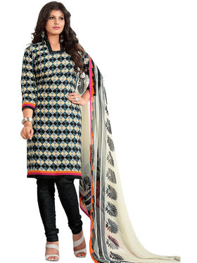 Khushali Fashion Cotton Self Dress Material -Bgssnr44016