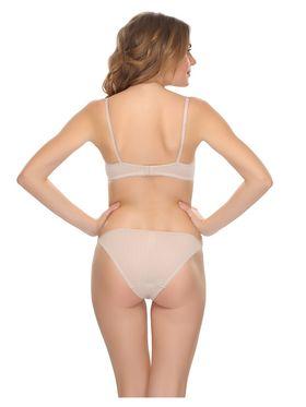 Clovia Cotton Lycra Polka Print Bra & Panty Set -BP0398P24