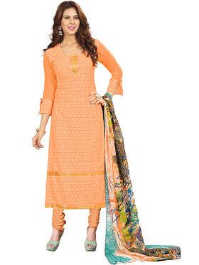 Khushali Fashion Georgette Embroidered Unstitched Dress Material -BRCRHI41004