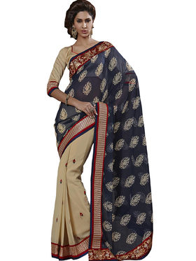 Combo of 3 Bahubali Embroidered Saree - CMB005