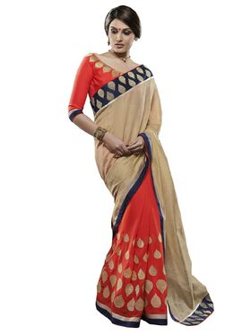 Beautiful Pack of 2 Party wear Sarees - By Bahubali