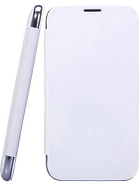 Camphor Flip Cover for Sony Xperia C - White