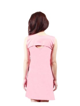Arisha Cotton Solid Dress DRS1019_BbyPnk