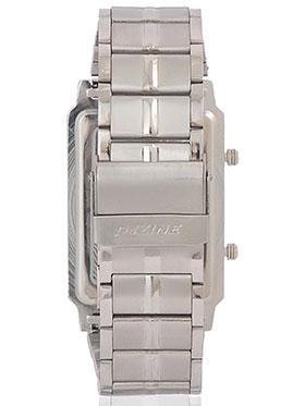 Dezine Wrist Watch for Men - White_DZ-GSQ100-WHT-CH