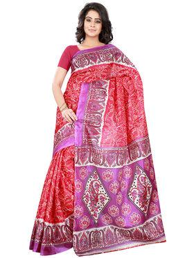 Florence Art Silk Printed  Sarees FL-10944
