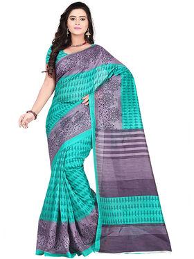 Florence Bhagalpuri silk Printed  Sarees FL-10951