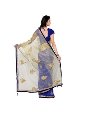 Florence Embroidered  Net Sarees -FL-11211