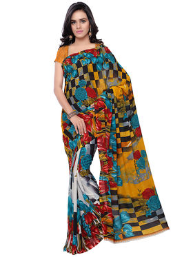 Florence Printed Faux Georgette Sarees -FL-11234