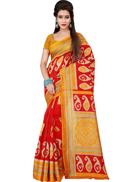 Florence Printed Bhagalpuri Silk Sarees FL-11701