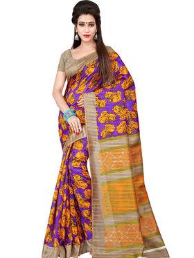 Florence Printed Bhagalpuri Silk Sarees FL-11711