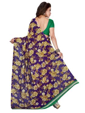 Florence Printed Faux Georgette Sarees FL-11730