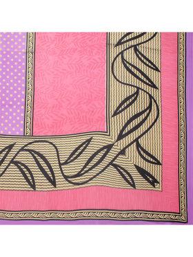 Florence Printed Chiffon Saree -FL-11759