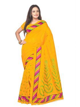 Pack of 5 Florence Printed Bhagalpuri Silk Saree - feb_7