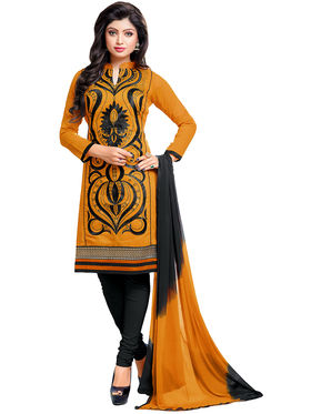 Khushali Fashion Chanderi Embroidered Dress Material -Gfblbl710009