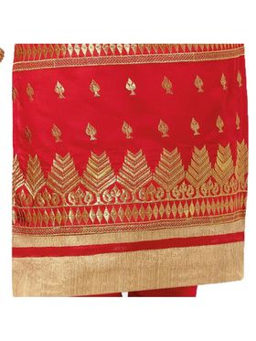 Khushali Fashion Chanderi Embroidered Dress Material -Gfblbl710012