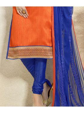 Viva N Diva Banglori Silk Patch Work Unstitched Dress Material Gazee-8002
