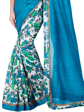 Shonaya Floral Print Bhagalpuri Art Silk Sarees -Hikml-5102