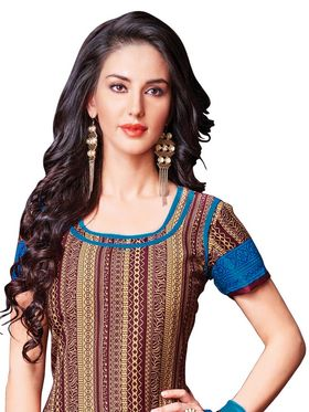 Khushali Fashion Crepe Printed Unstitched Dress Material -HNYVR1003