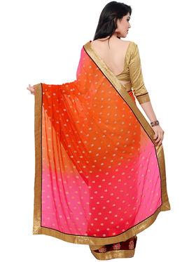 Indian Women Georgette Saree -IC40407
