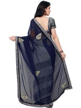 Indian Women Georgette Saree -IC40420