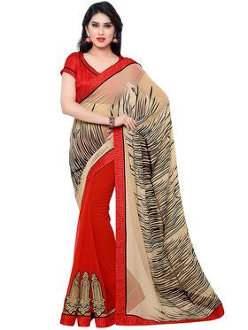 Indian Women Georgette Saree -IC40425