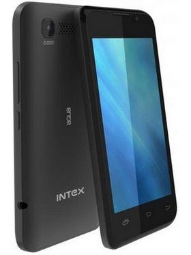 Intex Aqua 3G Smart Mobile Phone - Black